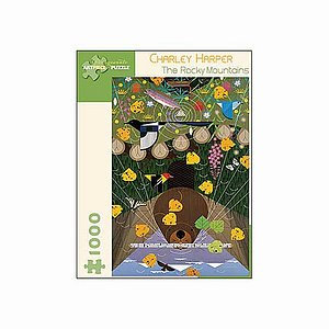 Charley Harper Rocky Mountains Puzzle 1000 pcs  Ages 12 and up