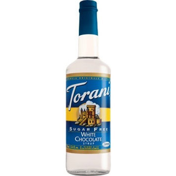 Torani Sugar Free Syrup, White Chocolate, 33.8 Ounce (Pack of 3)