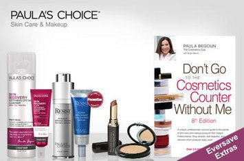 Paula's Choice skincare and cosmetics