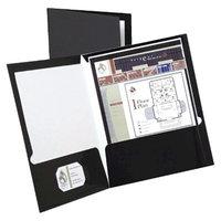 Oxford 100 Sheet Capacity High Gloss Laminated Paperboard Folder -