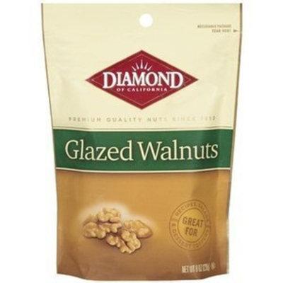 Diamond Nuts Diamond Brand, Glazed Walnuts, 8oz Bag (Pack of 3)