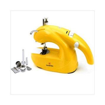Smartek Cord-Cordless Sewing Machine in Yellow