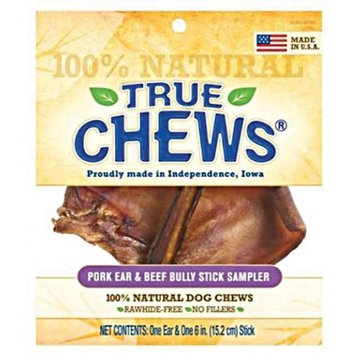 Tyson Pet Products, Inc. True Chews� Pig Ear & Bully Stick Sampler