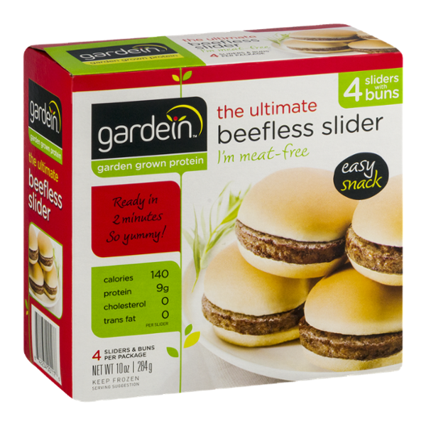Gardein The Ultimate Beefless Slider - 4 CT