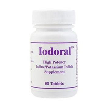 Optimox Iodoral (High Potency Iodine/Potassium Iodide Supplement) 12.5 mg 90 Tablets