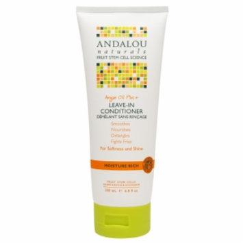 Andalou Naturals Argan Oil Plus+ Leave-In Conditioner, 6.8 fl oz