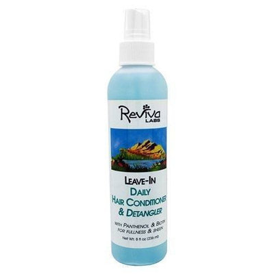 Daily Hair Conditioner & Detangler, Leave-In, 8 oz (236 ml), From Reviva Labs