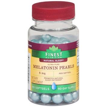 Finest Nutrition Melatonin Pearls 5mg Softgels