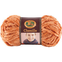 Orchard Yarn & Thread Co. Lion Brand Chenille Yarn Terracotta