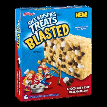 Kellogg's Rice Krispies Treats Blasted Chocolatey Chip Marshmallow - 6 CT
