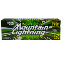 Cott Beverages: Mountain Lightning Soda, 12 pk
