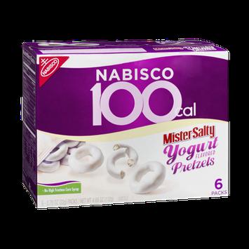 Nabisco 100 Cal Mister Salty Yogurt Flavored Pretzels - 6 PK