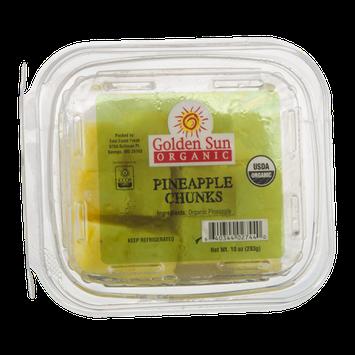 Golden Sun Organic Pineapple Chunks
