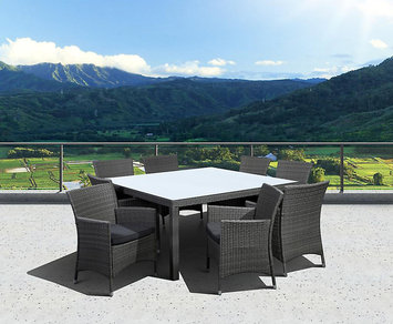 Allen + Roth allen + roth Woodwinds 27-in x 27-in Wood Round Patio Dining Table