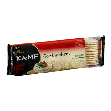 KA-ME Rice Crackers Sesame