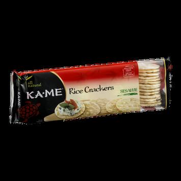 KA-ME Rice Crackers Sesame