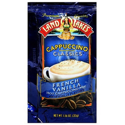 Land O'Lakes Cappuccino Classics, French Vanilla, 1.16-Ounce Packets (Pack of 12)