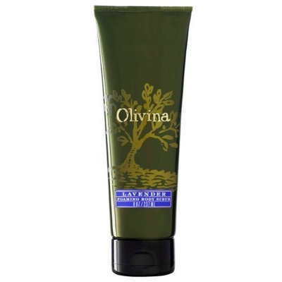 Olivina Lavender Scrub Grapeseed, 8 Ounce