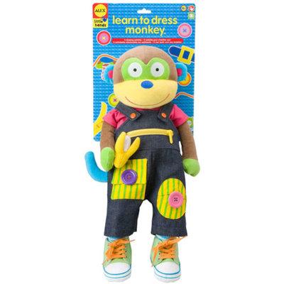 Alex Toys Alex Learn to Dress Monkey