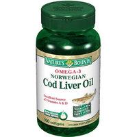 Nature's Bounty Norwegian Cod Liver Oil