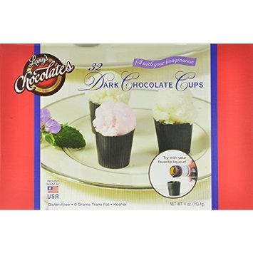 Lang's Chocolates Dark Chocolate Dessert Cups Certified Kosher-Dairy