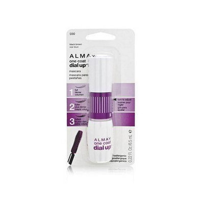 Almay One Coat Dial Up Mascara, Black