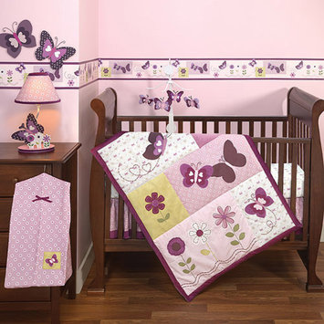 Bedtime Originals by Lambs & Ivy - Provence 3pc Crib Bedding Collection Set - Value Bundle