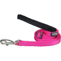 Red Dingo L6-ZZ-HP-LG Dog Lead Classic Hot Pink Large