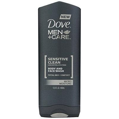 Dove Men+Care Sensitive Clean Body And Face Wash