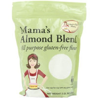 Gluten Free Mama, Mama's Almond Blend All Purpose Gluten-Free Flour, 2 Pound Pouch (Pack of 2)