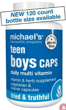 Michaels Naturopathic Programs Michael's Naturopathic Programs - Teen Boys Caps Daily Multi Vitamin - 120 Vegetarian Capsules