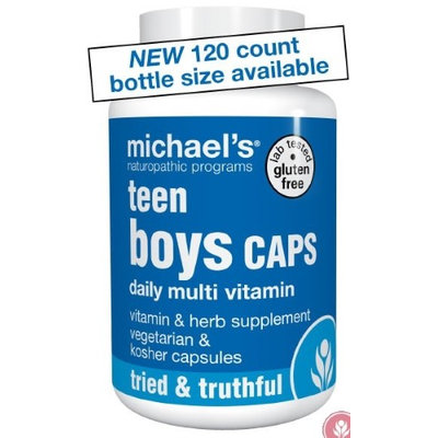 Michaels Naturopathic Programs Michael's Naturopathic Programs - Teen Boys Caps Daily Multi Vitamin - 120 Vegetarian Capsules