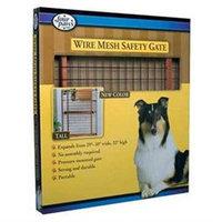 Four Paws 100203580/57111 Dark Wood Wire Mesh Gate