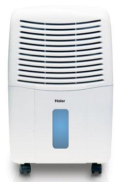 Haier - 45-pint Portable Dehumidifier - White