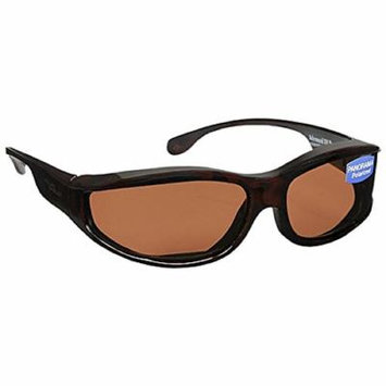Foster Grant Solar Shield Polarized Panorama Fits Over Glasses Size S