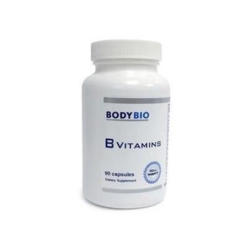 BodyBio , B Vitamins , 90 Capsules