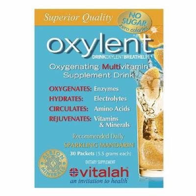 Oxylent Oxygenating Multivitamin Drink, Packets, Sparkling Mandarin 30 ea