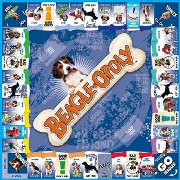 Beagle-opoly Board Game, Ages 8+, 1 ea