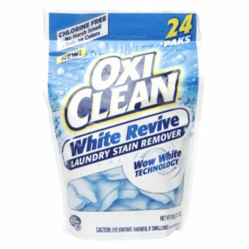 OxiClean White Revive Laundry Stain Remover, 24 ea