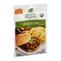 Simply Organic Sloppy Joe Seasoning