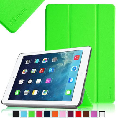 Fintie SmartShell Case Ultra Slim Lightweight Cover for iPad Mini 2 (2013 Edition) and Mini (2012 Edition), Green