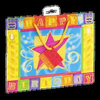 Designer Greetings Glitterwrap Giftbag Happy Birthday