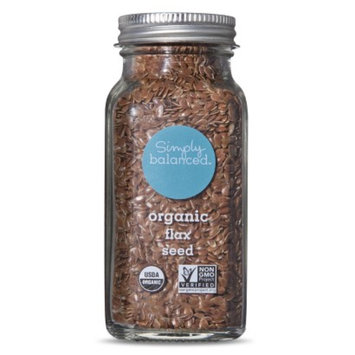 Simply Balanced Organic Flax Seed 3.8oz