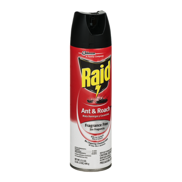 Raid Ant & Roach Killer Fragrance Free