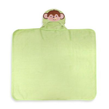 Hamco Neat Solutions Happy Monkey Terry Hooded Bath Wrap