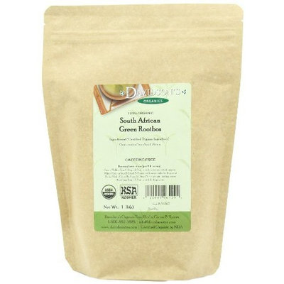 Davidson's Tea Bulk, So African Green Rooibos, 16-Ounce Bag