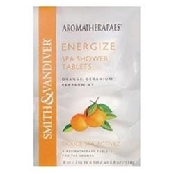 Smith & Vandiver Aromatherapes ENERGIZE Spa Shower Tablets