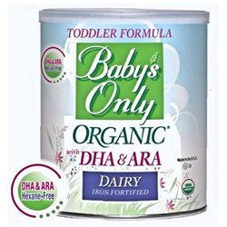 Baby's Only Organic Baby Dairy With Dha and Ara Iron Formula (6 pack)