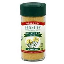 Frontier Herb 28340 Org Ground Yellow Mustard Seed