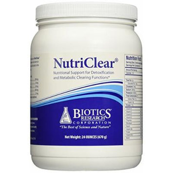 Biotics Research - NutriClear Detox and Metabolic Clearing Support - 24 oz.
